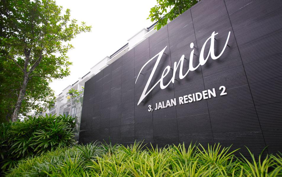 Zenia Parkhomes & Garden Condos, Desa ParkCity